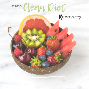 RETO CLEAN DIET RECOVERY
