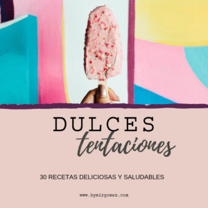 RECETARIO DULCES TENTACIONES