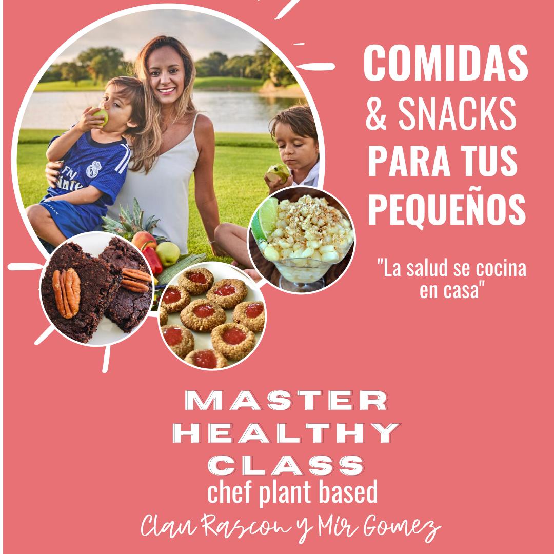 MHC La Salud se cocina en casa para niños
